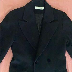Woman's Isaac Mizrahi Full Length Wool Coat